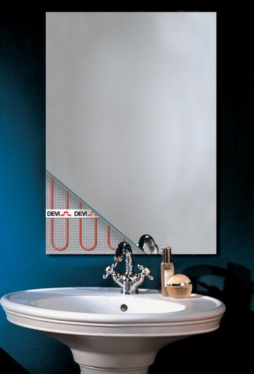 Зеркало в ванной с подогревом своими руками
